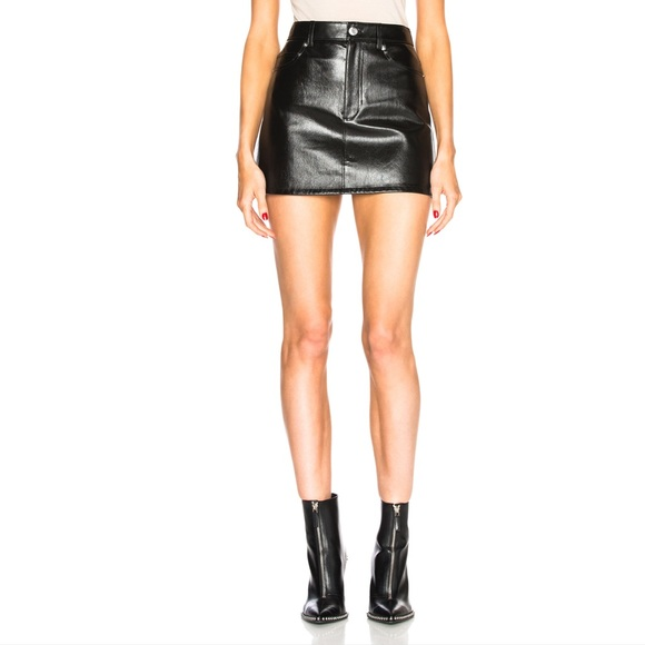 b6f2ae458 Helmut Lang Skirts | Sale 5 Pocket Mini Skirt Leather | Poshmark
